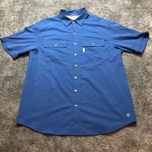 Men's Columbia Fishing Shirt Medium